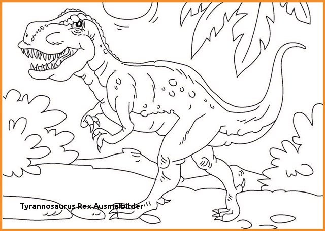 Ausmalbild T-rex Frisch 27 Tyrannosaurus Rex Ausmalbilder Colorbooks Colorbooks Bild