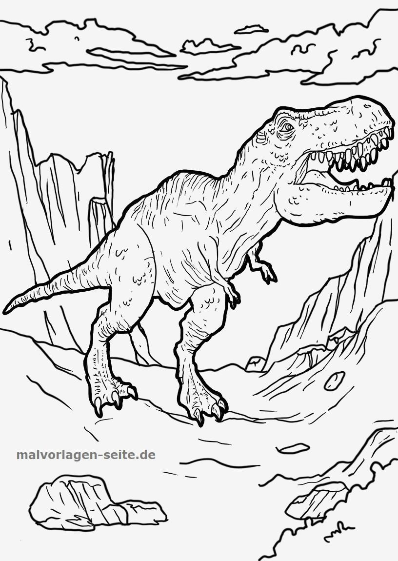 Ausmalbild T-rex Inspirierend Spannende Coloring Bilder T Rex Malvorlagen Kostenlos Stock