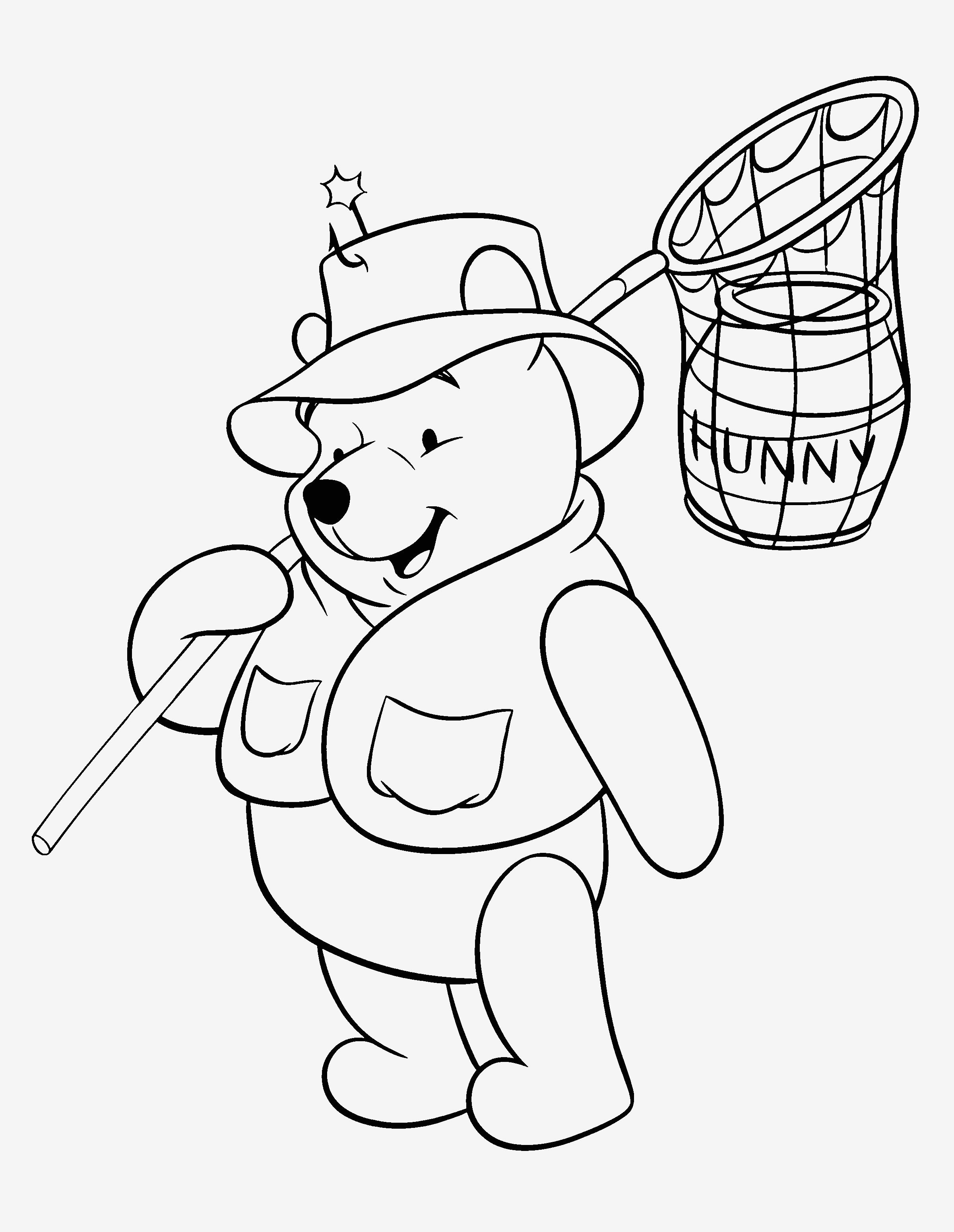 Ausmalbild Winnie Pooh Genial Spannende Coloring Bilder Winnie Puuh Ausmalbilder Bild