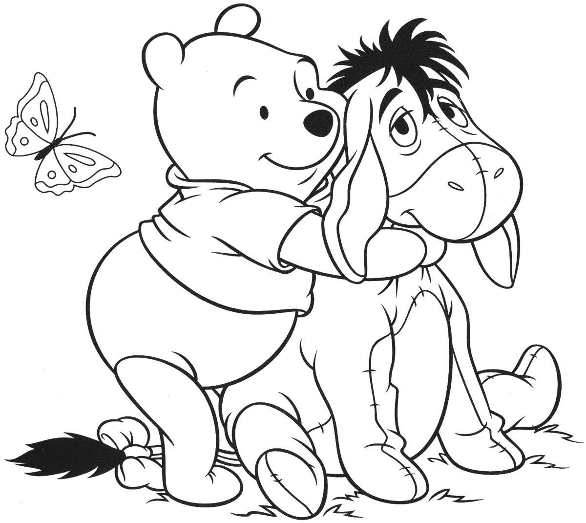 Ausmalbild Winnie Pooh Neu Ausmalbilder Winnie Puuh Inspirierend Winnie the Pooh Coloring Pages Bild