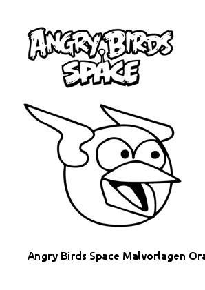 Ausmalbilder Angry Birds Das Beste Von 29 Angry Birds Space Malvorlagen orange Vogel Das Bild