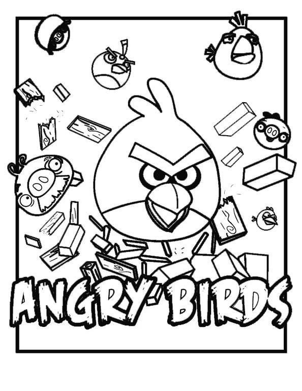Ausmalbilder Angry Birds Einzigartig Angry Birds Umsonst Hd Fotografieren