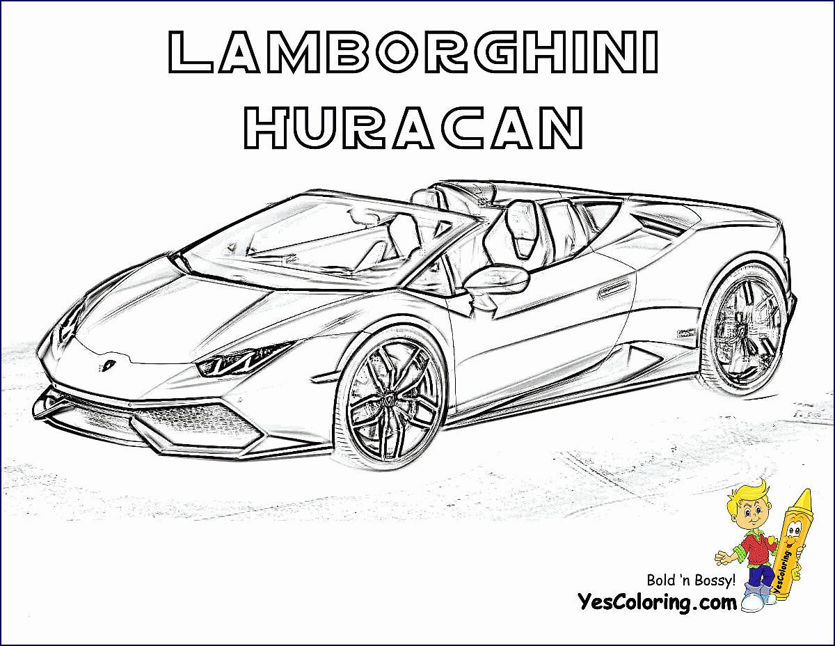 99 Genial Ausmalbilder Autos Lamborghini Galerie Kinder Bilder
