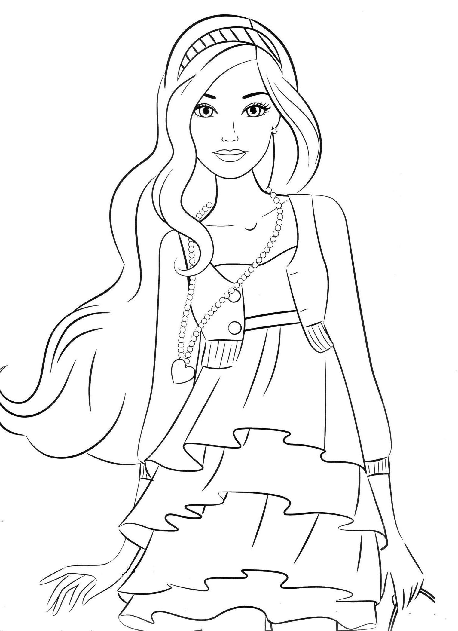Ausmalbilder Barbie Meerjungfrau Frisch 35 Lecker Ausmalbild Barbie – Malvorlagen Ideen Bilder