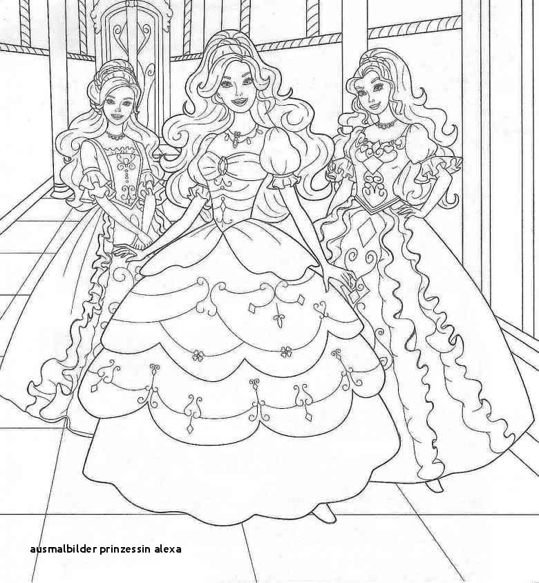 Ausmalbilder Barbie Prinzessin Frisch Ausmalbilder Prinzessin Alexa Galerie
