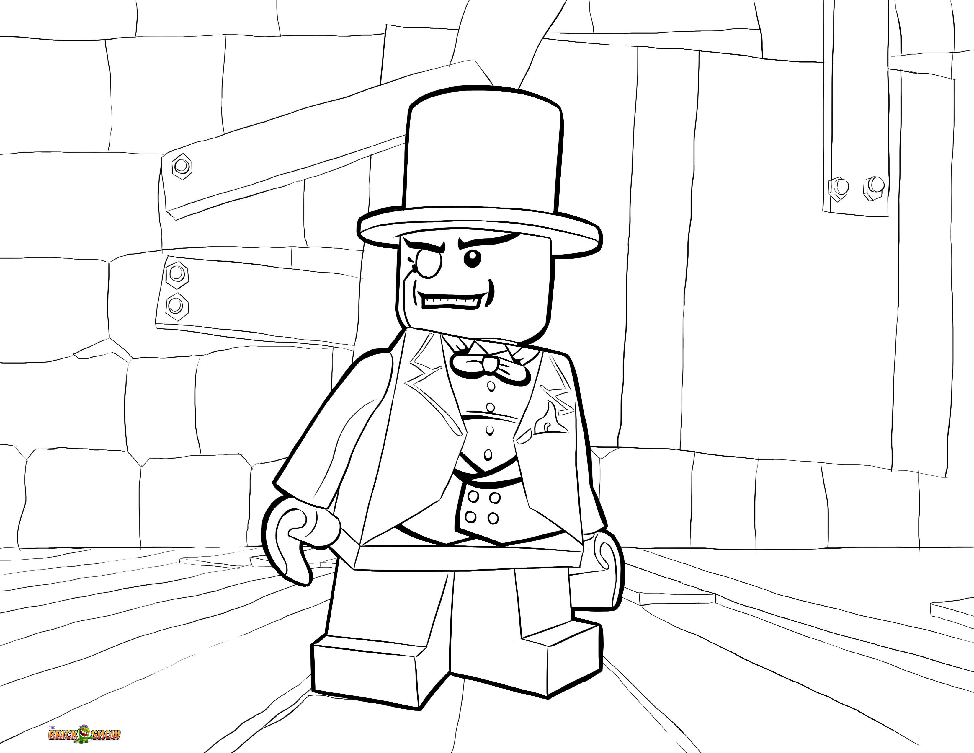 Ausmalbilder Batman Lego Genial 13 Awesome Lego Dc Coloring Pages