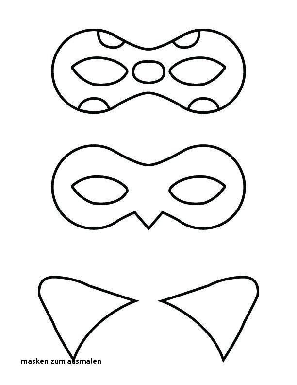 Ausmalbilder Cat Noir Neu Masken Zum Ausmalen Malvorlagen Masken Schön Malvorlagen Fur Kinder Bild