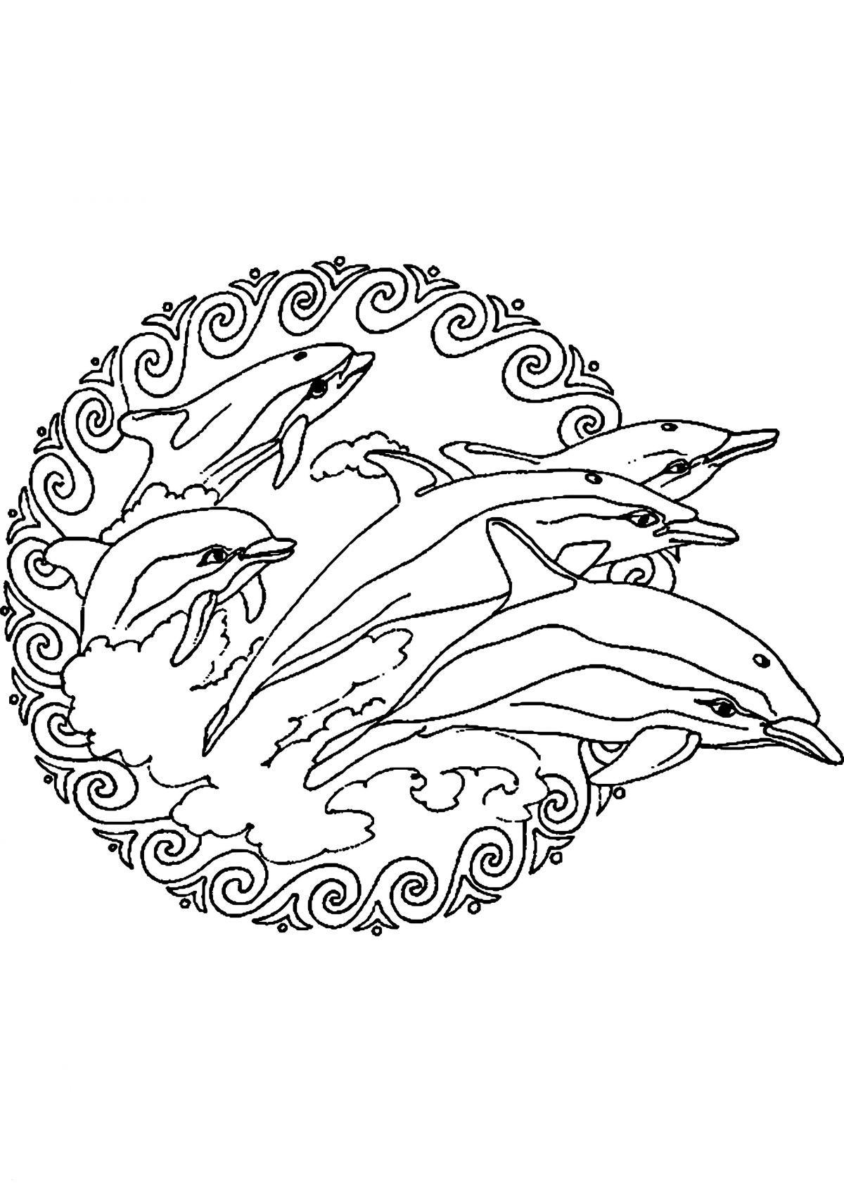 Ausmalbilder Delphine Zum Ausdrucken Frisch Ausmalbilder Meerjungfrau Und Delphin Elegant Meerjungfrau Bilder