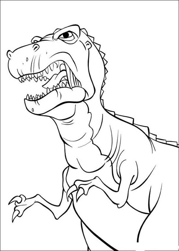 Ausmalbilder Dinosaurier In Einem Land Vor Unserer Zeit Das Beste Von Tyrannosaurus Rex Bilder Zum Ausdrucken — Hylenddawards Das Bild
