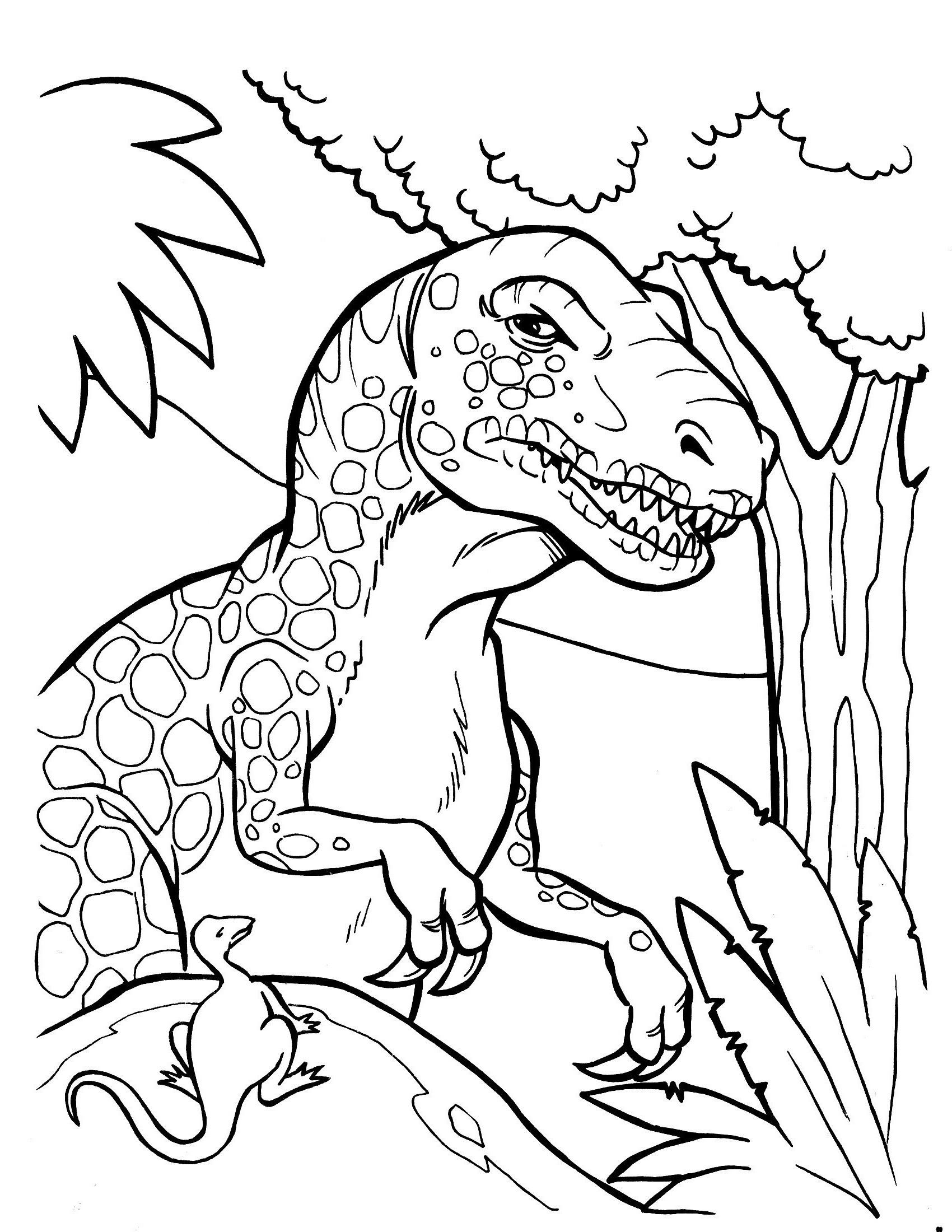 ausmalbilder dinosaurier rex genial 28 schön malvorlage