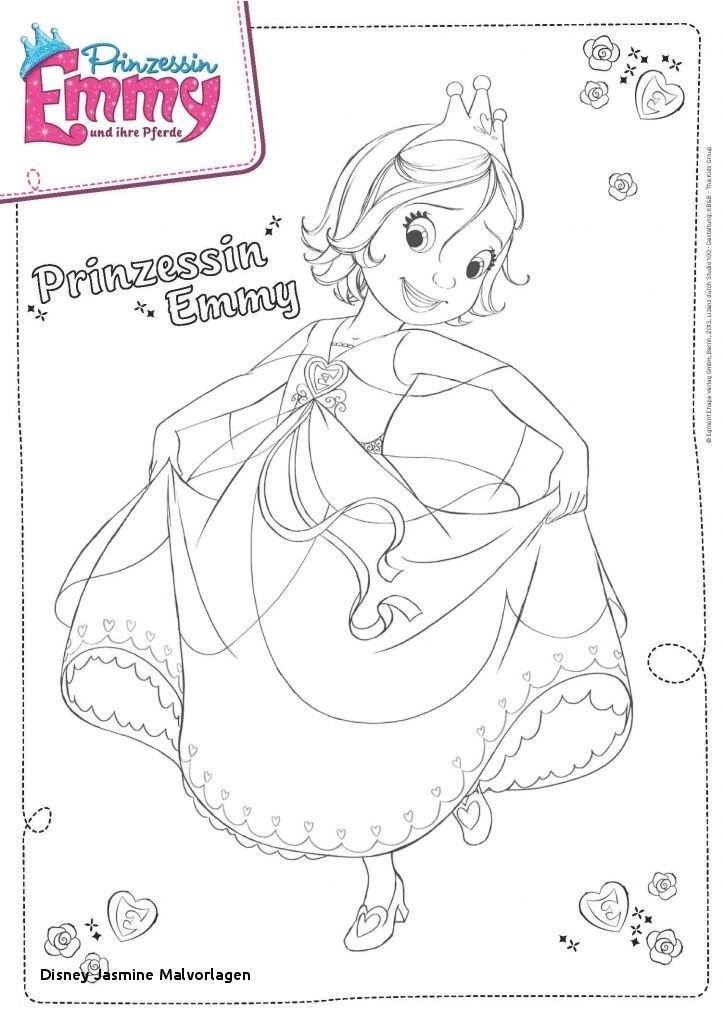 Ausmalbilder Disney Prinzessin Jasmin Einzigartig Disney Jasmine Malvorlagen 35 Prinzessin Emmy Ausmalbilder Stock