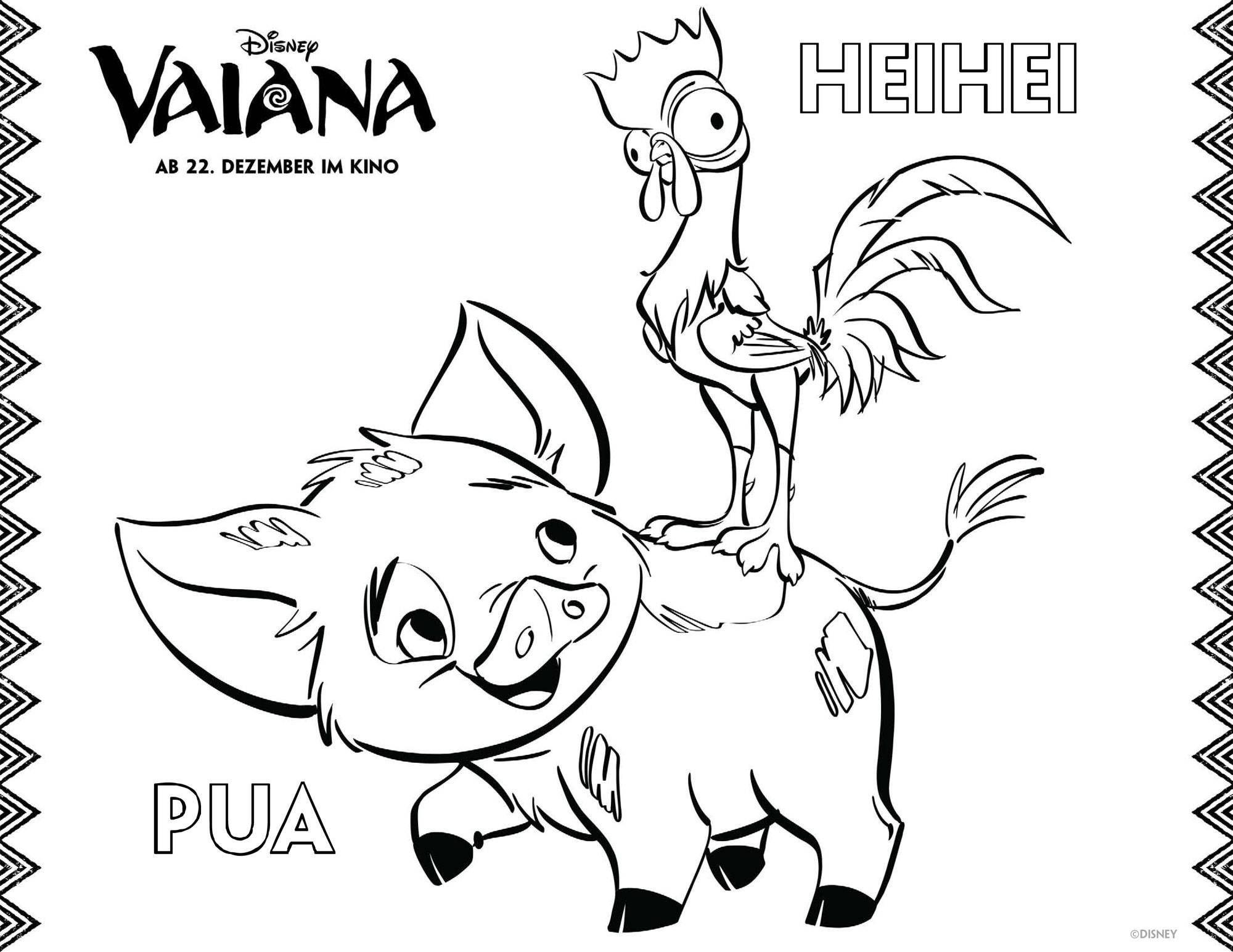 Ausmalbilder Donald Duck Das Beste Von Ausmalbilder Vaiana Pua Und Heihei Ausmalbilder Pinterest Luxus Stock