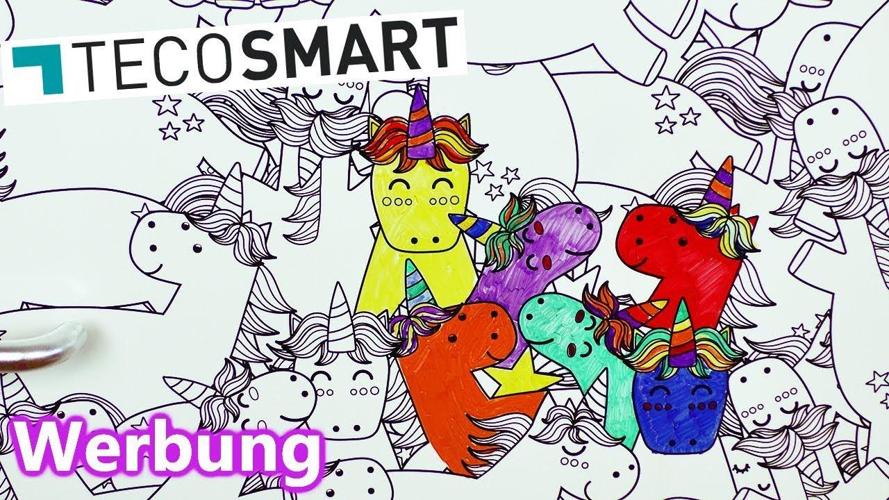 Ausmalbilder Emojis Unicorn Einzigartig Einhorn Deko Folie Von Tecosmart 🦄 Zum Immer Wieder Ausmalen Fotos