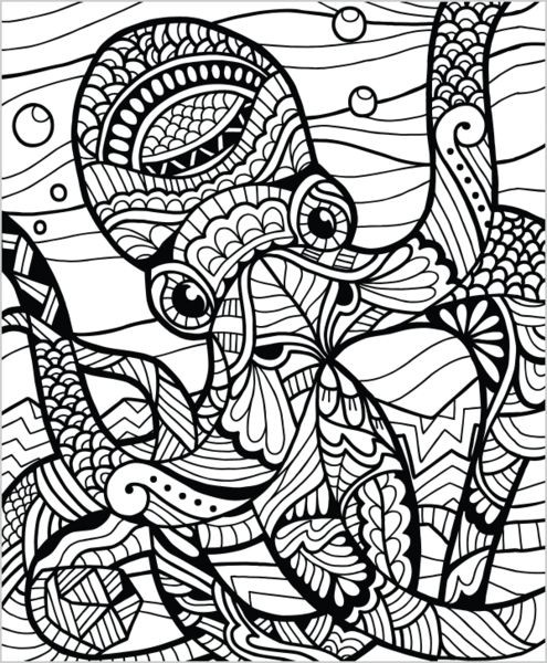 Ausmalbilder Für Erwachsene Elefant Neu 1431 Best Coloring Eeek so Fun Images On Pinterest Sammlung