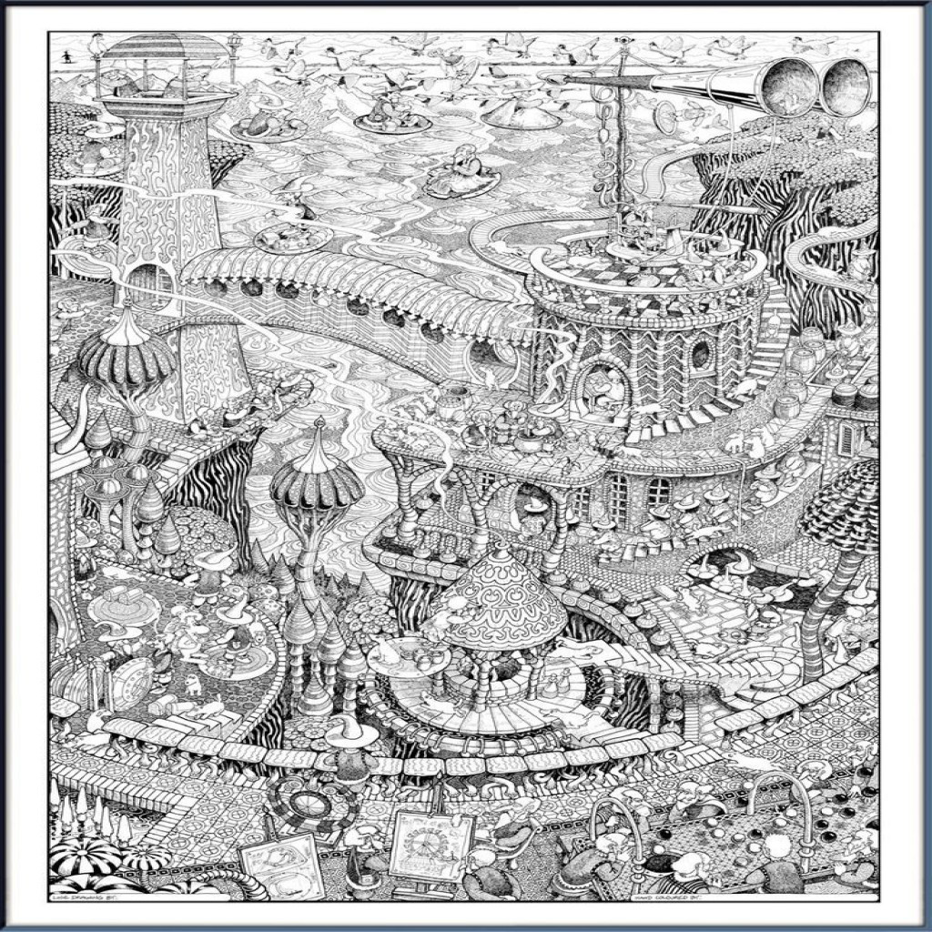 Ausmalbilder Für Erwachsene Landschaften Genial 100 Schöne Ausmalbilder Für Erwachsene Bilder Ideen Das Bild