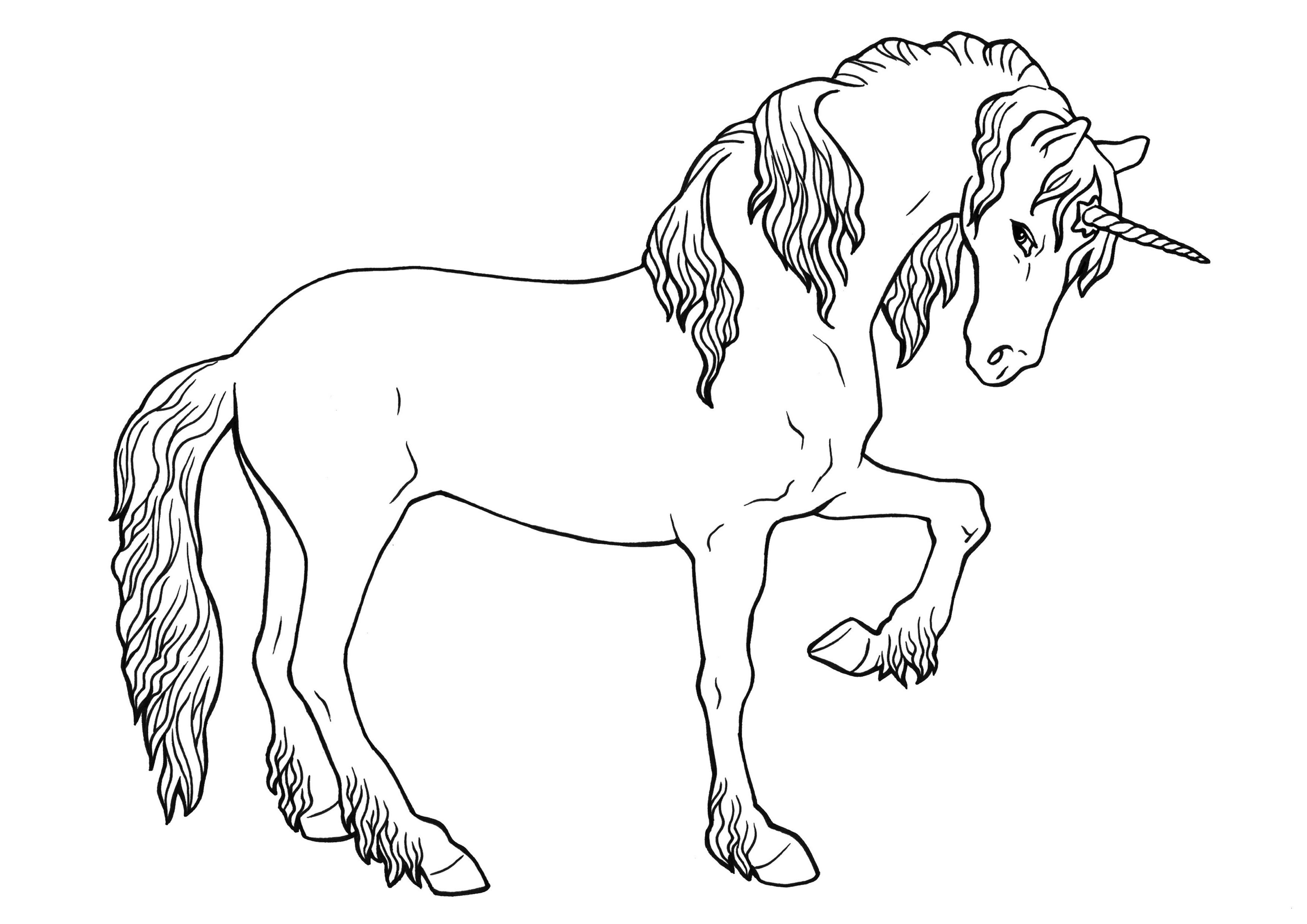 Ausmalbilder Fantasie Tiere Frisch 44 Einzigartig Schwierige Ausmalbilder – Große Coloring Page Sammlung Bilder
