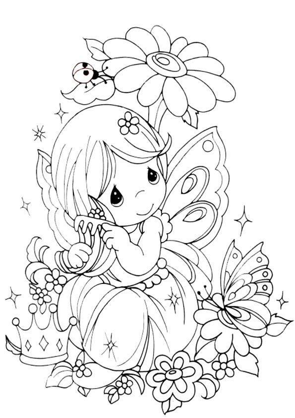 Ausmalbilder Feen Kostenlos Neu Coloring Fairies 1 Coloring Fairies Digi Stamps Das Bild