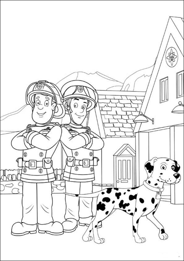 98 Einzigartig Ausmalbilder Feuerwehrmann Sam Sammlung Kinder Bilder