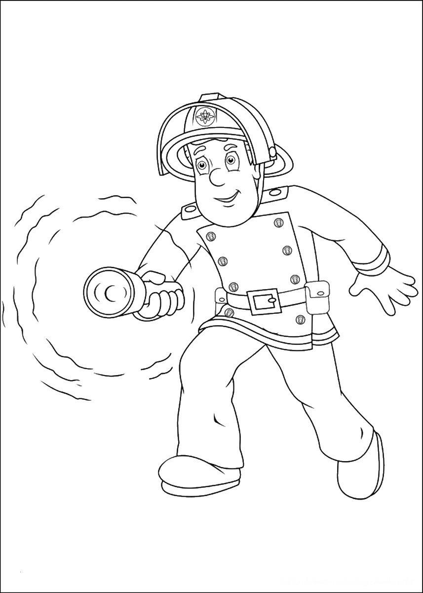 Ausmalbilder Feuerwehrmann Sam Frisch 35 Malvorlagen Feuerwehrmann