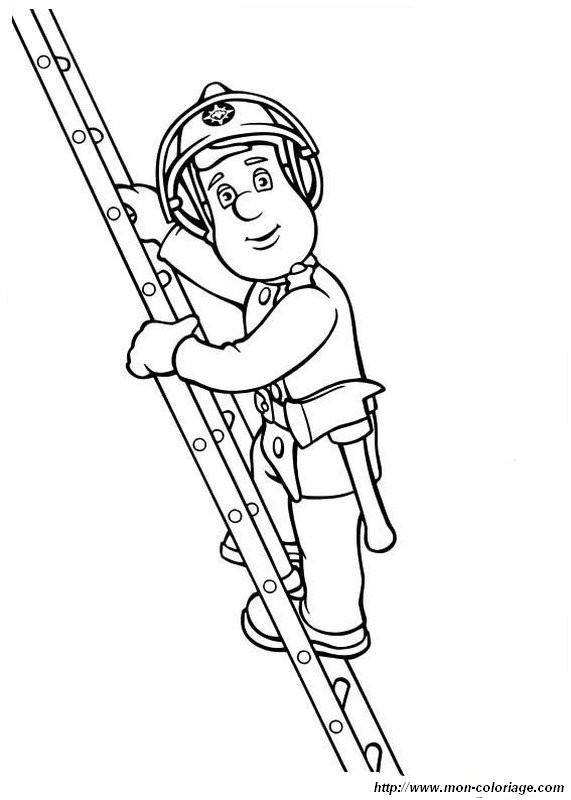 Ausmalbilder Feuerwehrmann Sam Genial Ausmalbilder Feuerwehrmann Sam Bild Auf Der Skala Stock