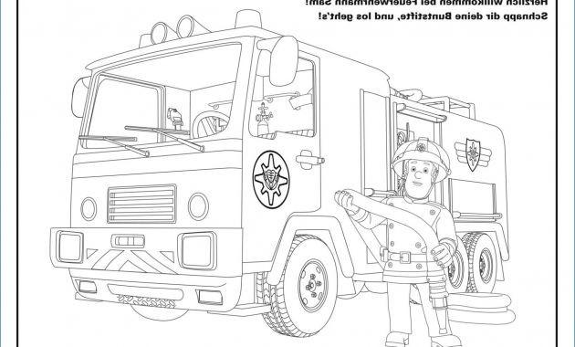 Ausmalbilder Feuerwehrmann Sam Neu Aviw Das Bild