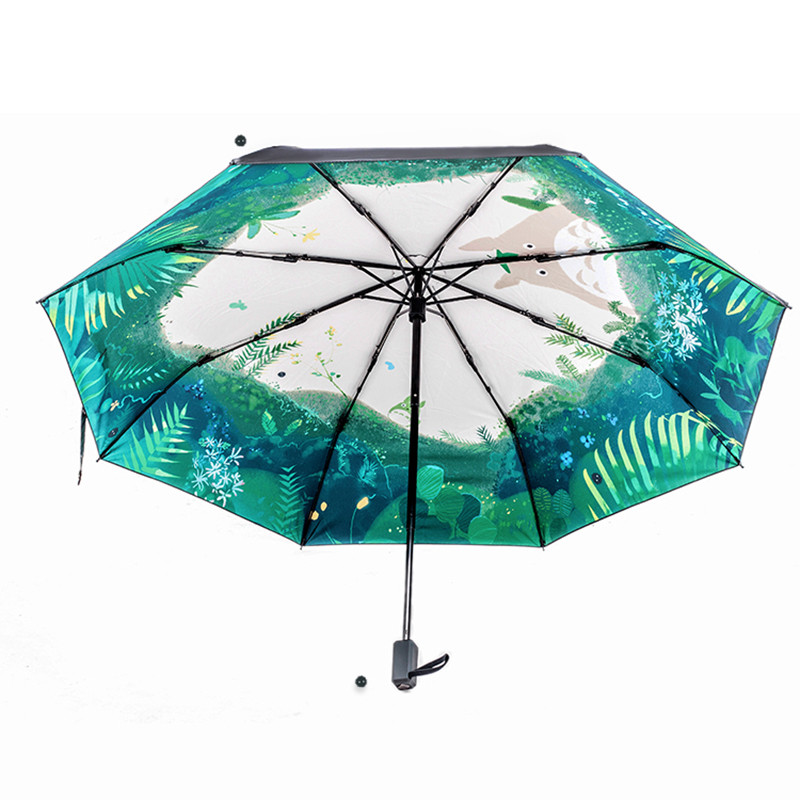 Ausmalbilder Fußball Wappen Zum Ausdrucken Neu Movie Big Fish & Begonia Printing Women Lady Rain and Sun Umbrella 3 Sammlung