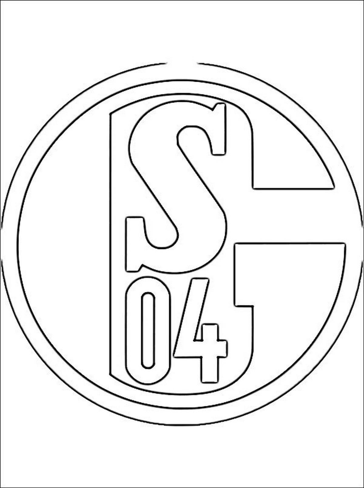 Ausmalbilder Fussball Wappen Bundesliga Einzigartig Bayern Wappen Zum Ausdrucken — Anadolufotografdernegi Stock
