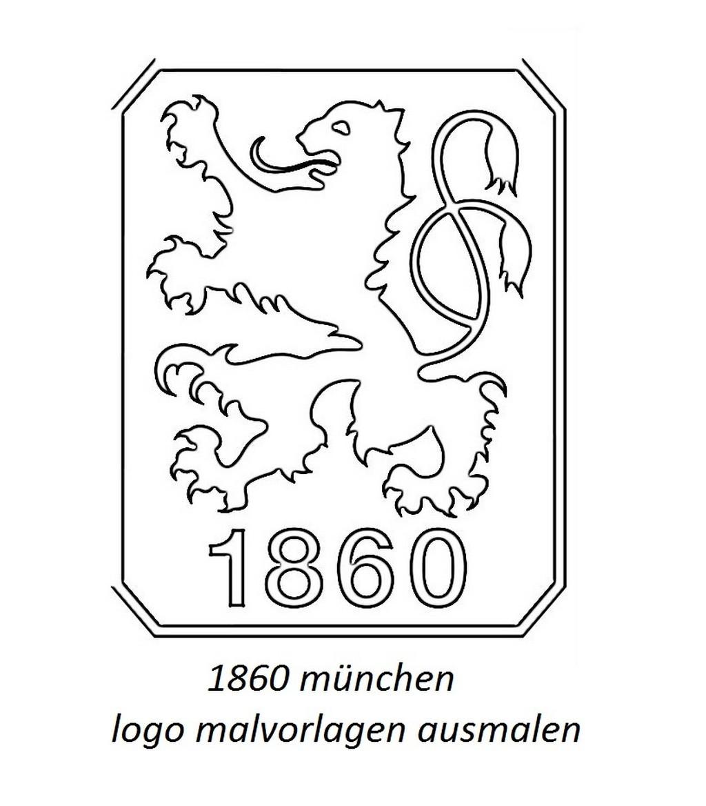 Ausmalbilder Fussball Wappen Bundesliga Frisch Malvorlagen 1860 München Inspirierend Fußball Ausmalbilder Neu Bilder