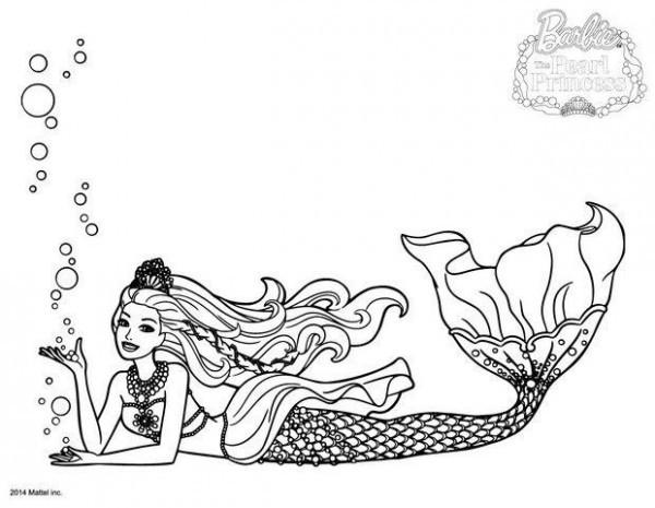 Ausmalbilder H2o Plötzlich Meerjungfrau Einzigartig Dibujos De Barbie Sirena Para Colorear Fotografieren