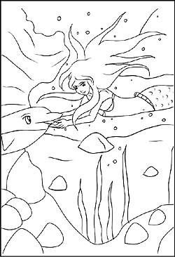 Ausmalbilder H2o Plötzlich Meerjungfrau Frisch Meerjungfrauen Als Malvorlagen Und Ausmalbilder Zum Ausdrucken Bild