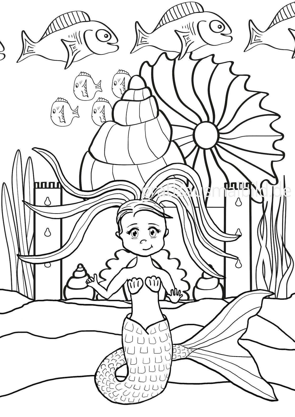 Ausmalbilder H2o Plötzlich Meerjungfrau Inspirierend Meerjungfrau Ausmalbild Sammlung