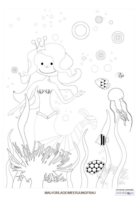 Ausmalbilder H2o Plötzlich Meerjungfrau Neu Meerjungfrau Malvorlage Kostenlos Ausdrucken Fotografieren