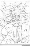 Ausmalbilder H2o Plötzlich Meerjungfrau Zum Ausdrucken Frisch Kostenlose Malvorlage Meerjungfrau Mit Ihrem Delfin Im Mee Fotos