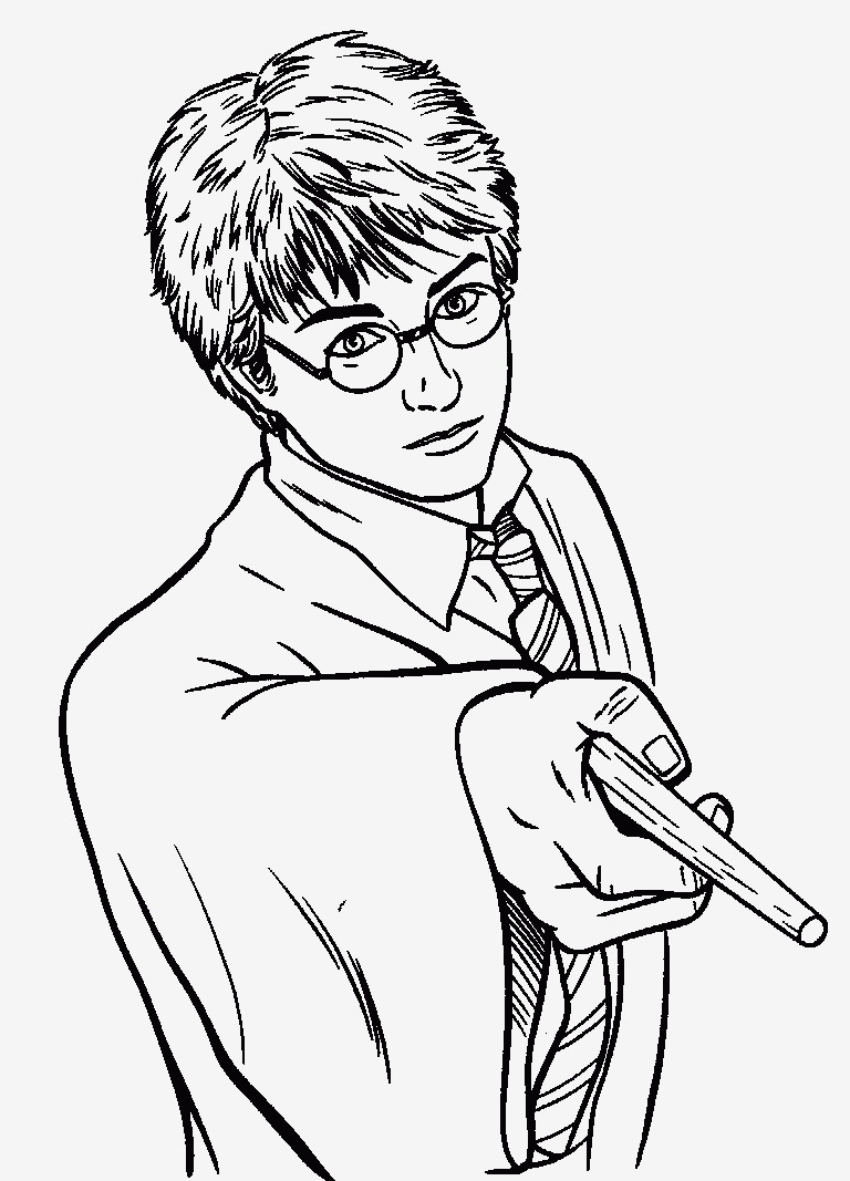 Ausmalbilder Harry Potter Einzigartig Spannende Coloring Bilder Harry Potter Malvorlagen Stock