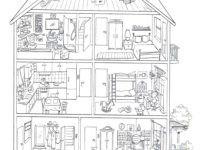 Ausmalbilder Haus Mit Garten Inspirierend Haus Malvorlagen Malvorlagen Haus Mit Garten Inagakiyu Info Avec Bilder