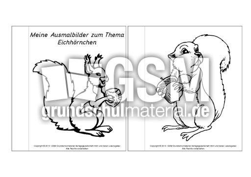 Ausmalbilder Herbst Eichhörnchen Inspirierend Mini Buch Ausmalbilder Eichhörnchen 1 5 Mini Bücher Das Bild