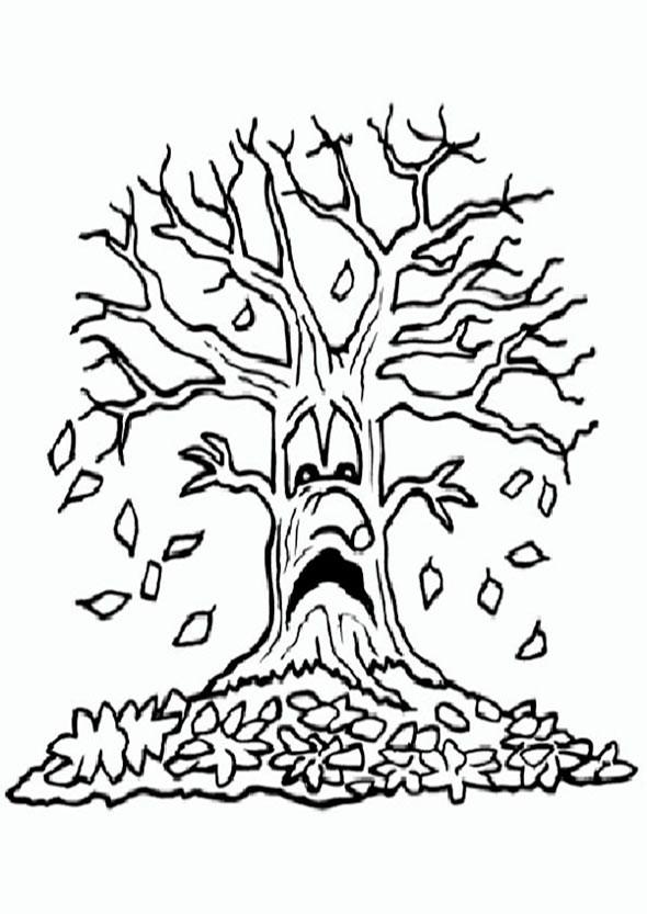 Ausmalbilder Herbst Eichhörnchen Inspirierend Ungewöhnlich Kostenlose Baum Malvorlagen Zeitgenössisch Sammlung