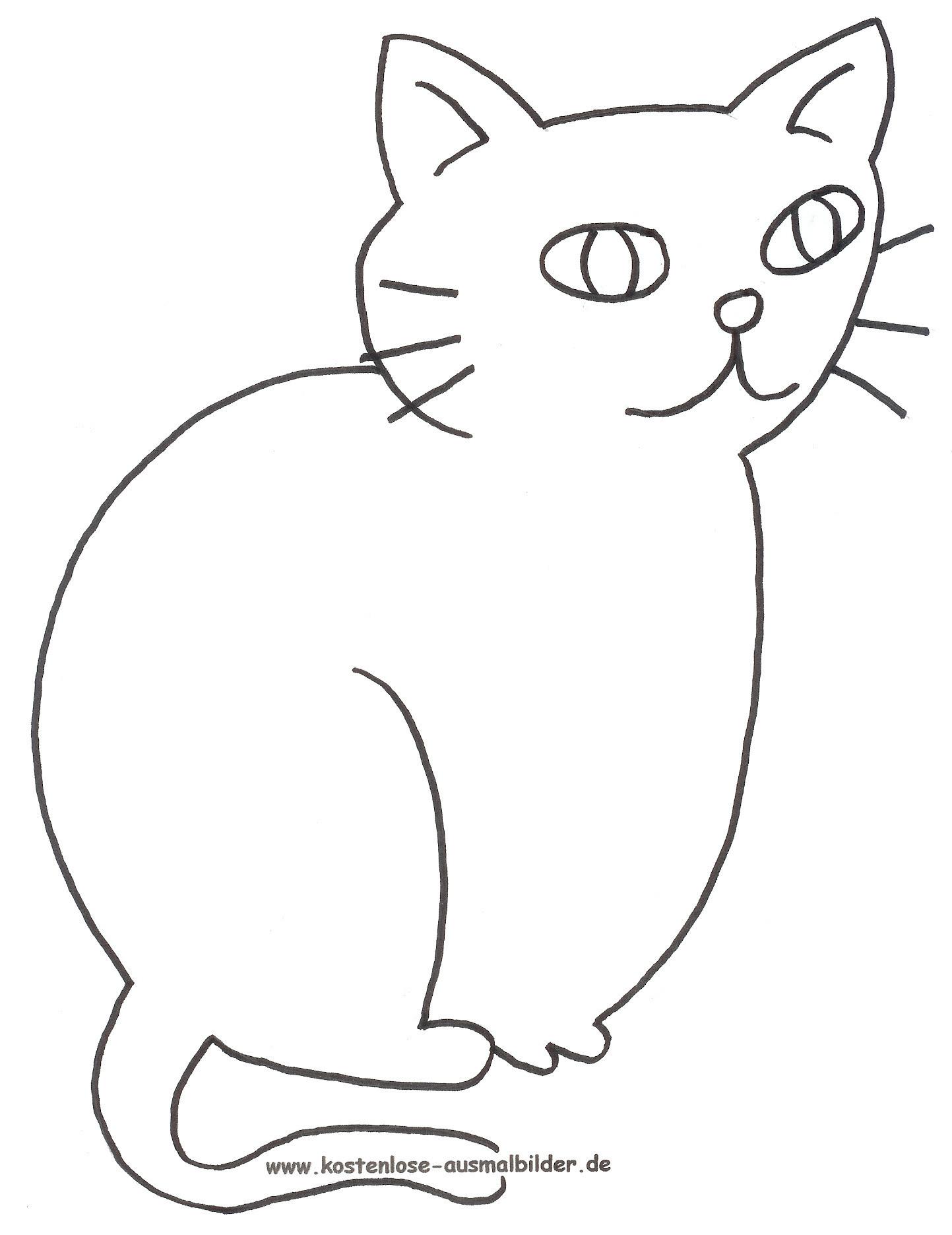 Ausmalbilder Hund Und Katze Inspirierend Ausmalbilder Katze Tiere Zum Ausmalen Neu Ausmalbilder Katzen Bild