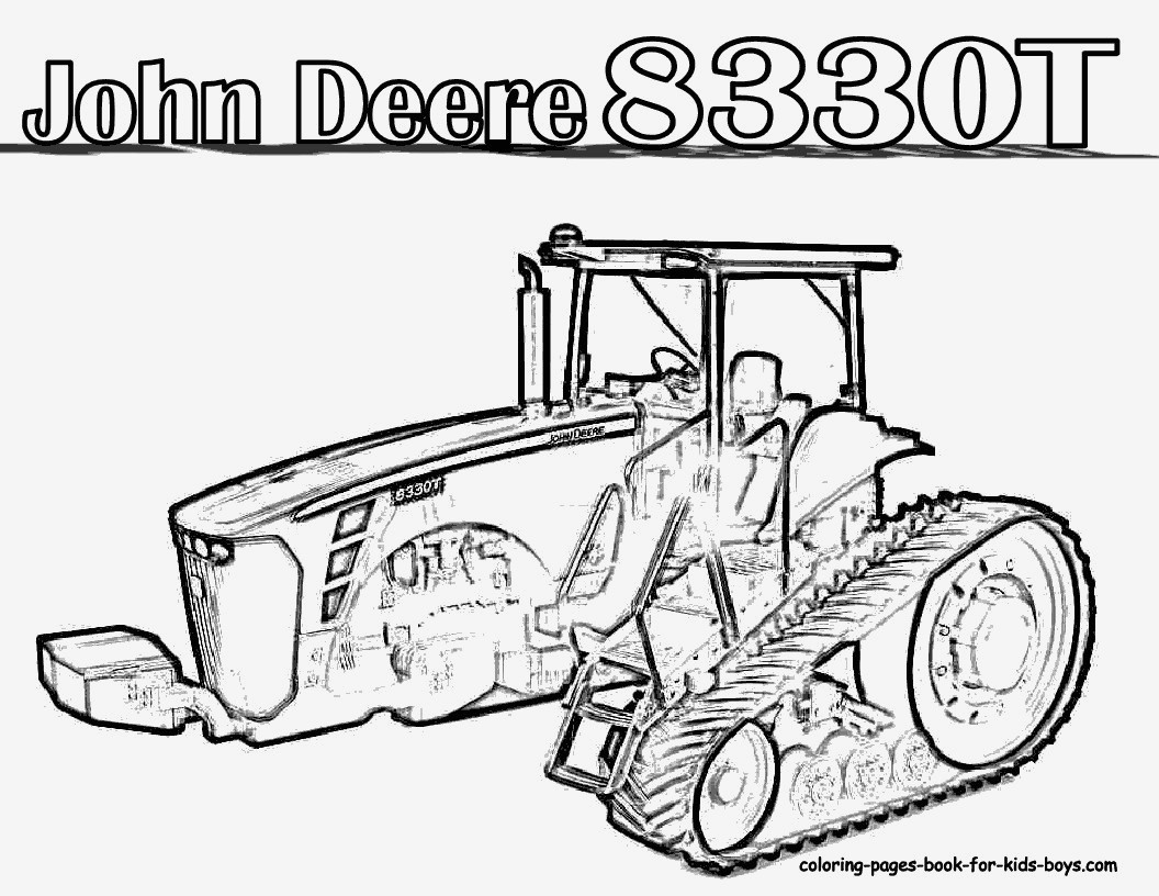 99 Neu Ausmalbilder John Deere Stock | Kinder Bilder