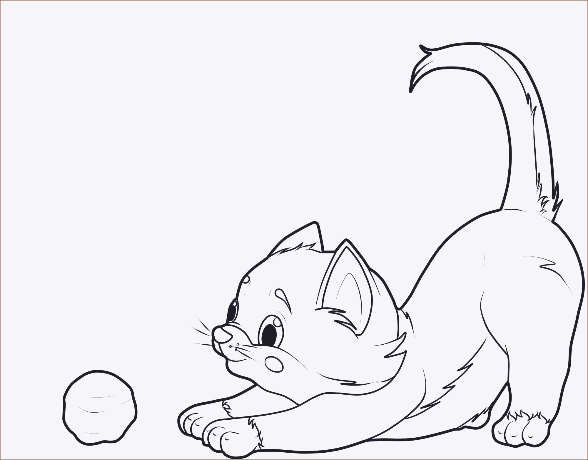 Ausmalbilder Katze Und Hund Das Beste Von Ausmalbilder Kostenlos Katzen Das Bild