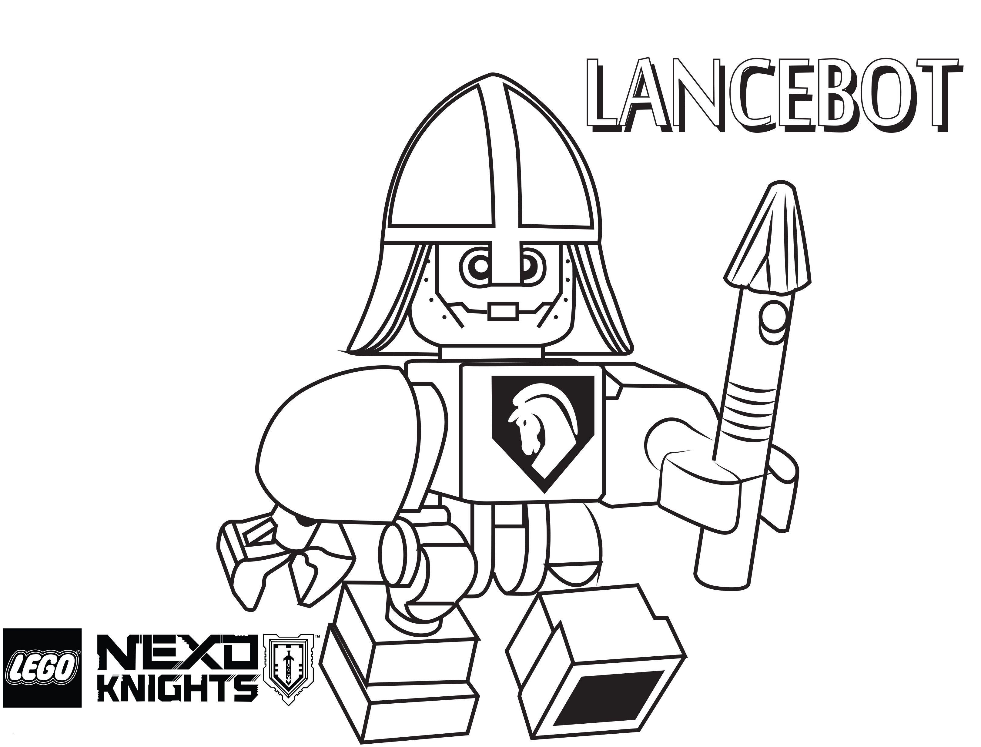 Ausmalbilder Lego Batman Frisch Lego Nexo Knights Coloring Pages Free Printable Lego Nexo Knights Sammlung