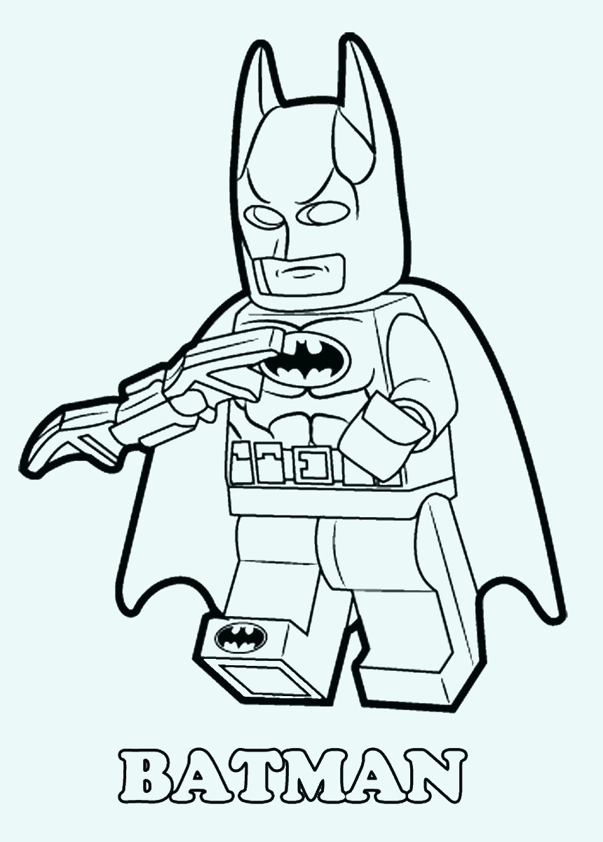Ausmalbilder Lego Batman Neu the Lego Movie Coloring Page Lego Wyldstyle Emmet & Batman Genial Sammlung