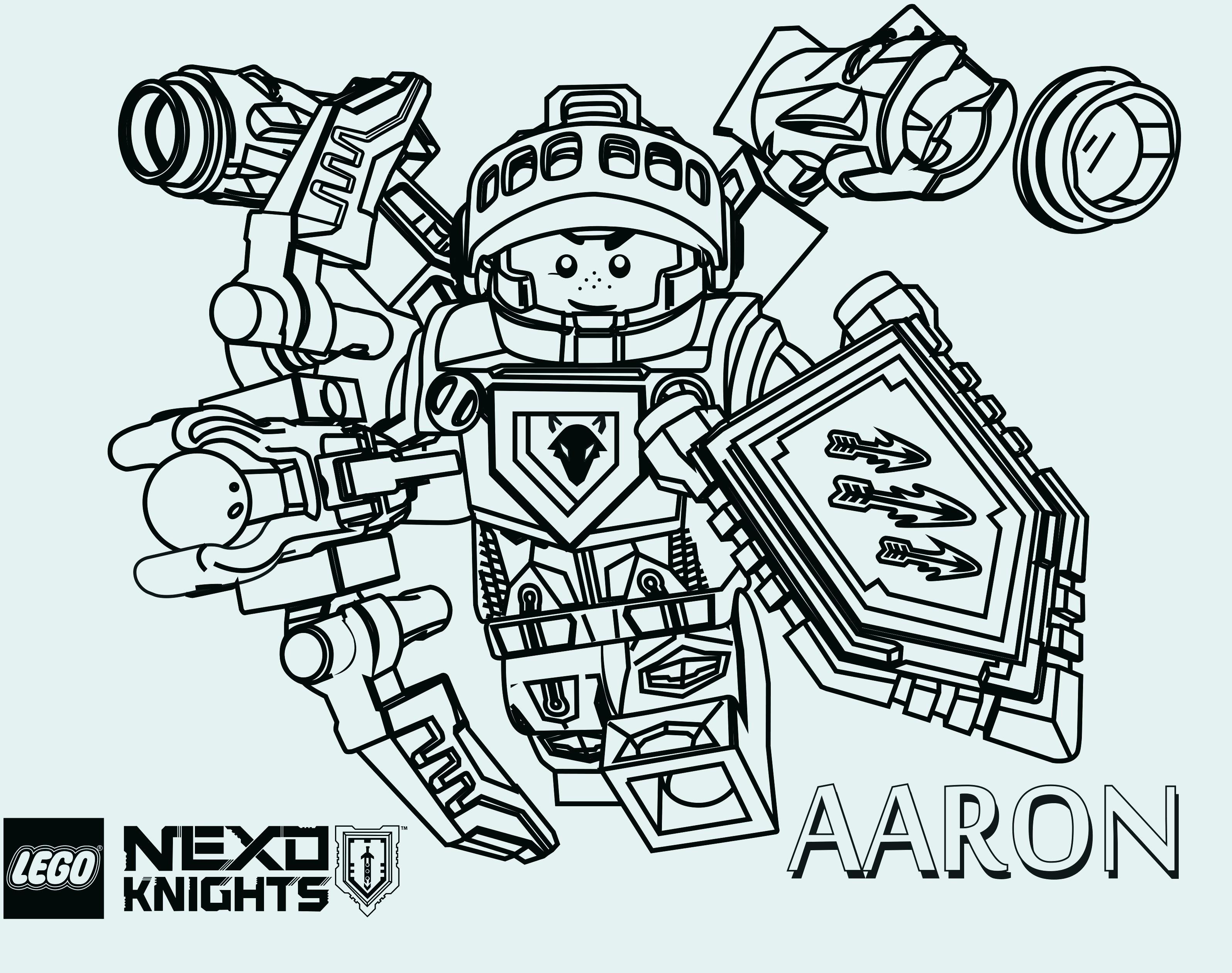 Ausmalbilder Lego Nexo Knights Einzigartig Eine Sammlung Von Färbung Bilder Lego Ninjago Malvorlagen Stock