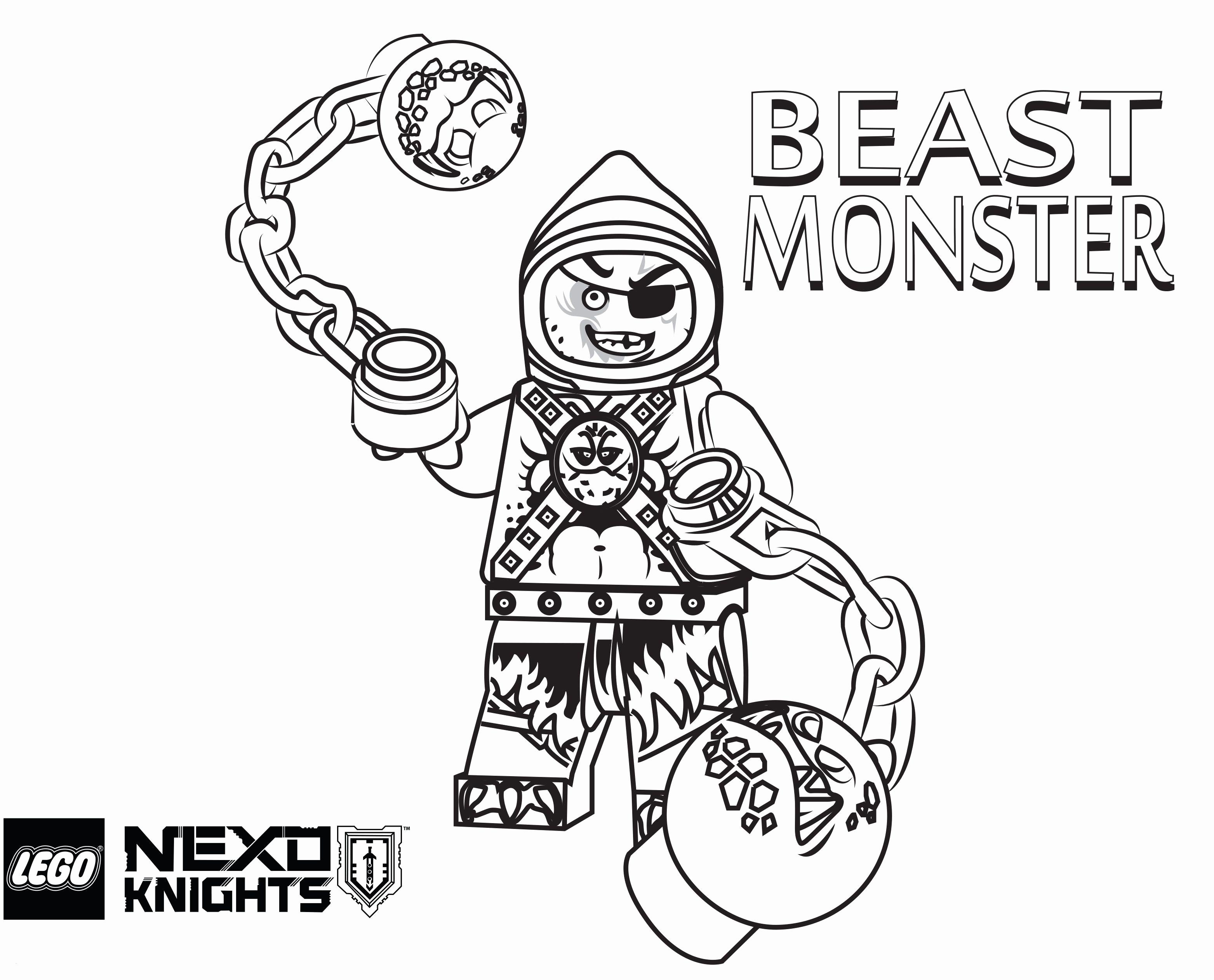 Coloriage Lego Nexo Knights Génial Ausmalbilder Lego Nexo Knight