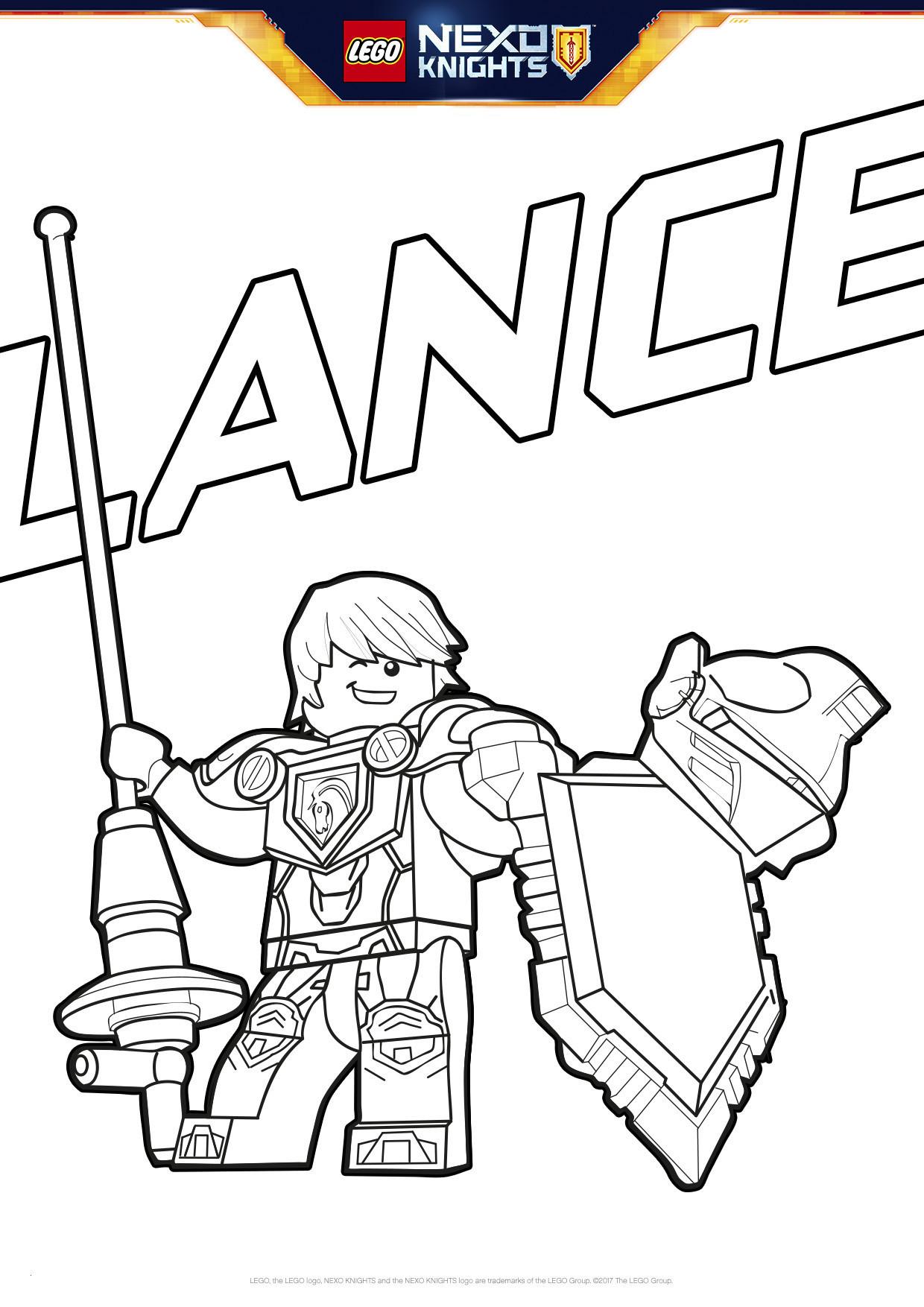 Ausmalbilder Lego Nexo Knights Neu Malvorlagen Nexo Knights Neu Energiegeladener Lance Ausmalbilder Das Bild
