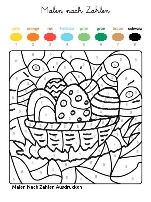 Ausmalbilder Malen Nach Zahlen Einzigartig Malen Nach Zahlen Ausdrucken Ausmalbild Malen Nach Zahlen Osterküken Bild