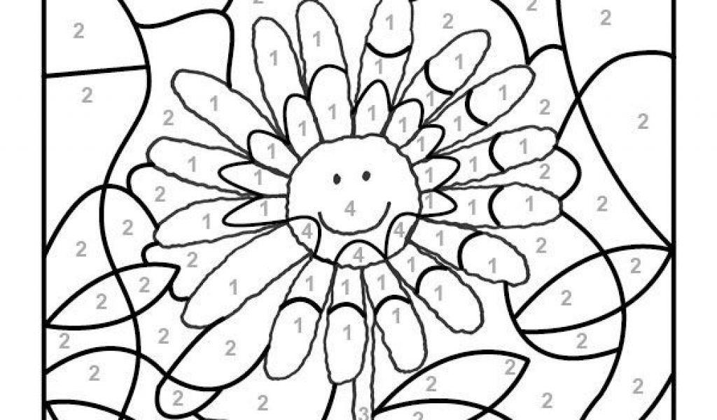 Ausmalbilder Malen Nach Zahlen Frisch Ausmalbilder Zum Ausdrucken Ausmalbild Malen Nach Zahlen sonnenblume Das Bild