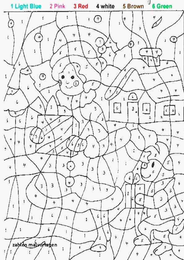 Ausmalbilder Malen Nach Zahlen Frisch Zahlen Malvorlagen Zahlen Lernen Zählen übungsblätter Ausdrucken Bilder
