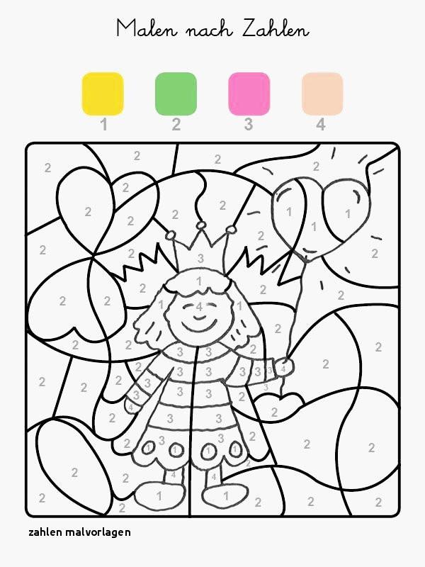 Ausmalbilder Malen Nach Zahlen Frisch Zahlen Malvorlagen Zahlen Lernen Zählen übungsblätter Ausdrucken Das Bild
