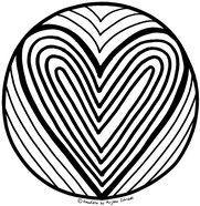 Ausmalbilder Mandala Herzen Einzigartig 199 Besten Mandalas Zum Ausdrucken Für Kinder Erwachsene Bilder Das Bild